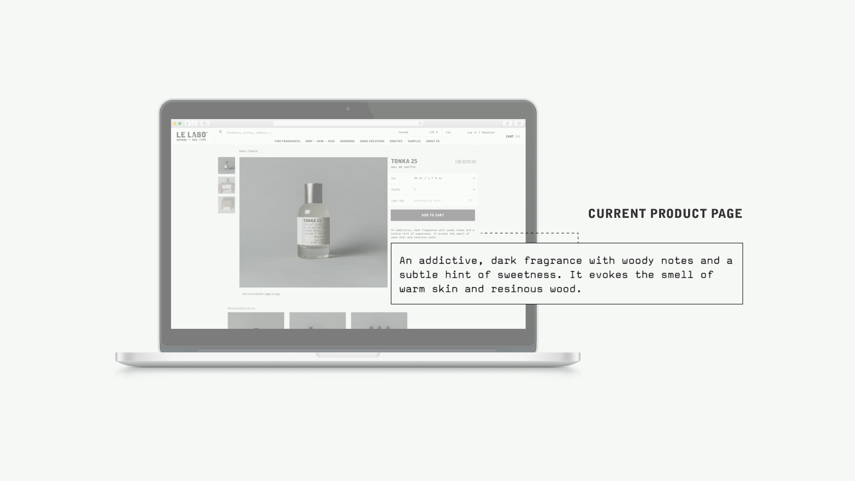Le Labo Current Product Page